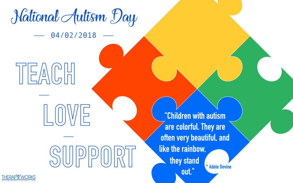 April; Autism awareness day