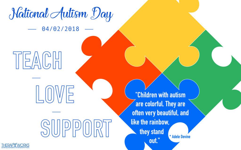April; Autism awareness day